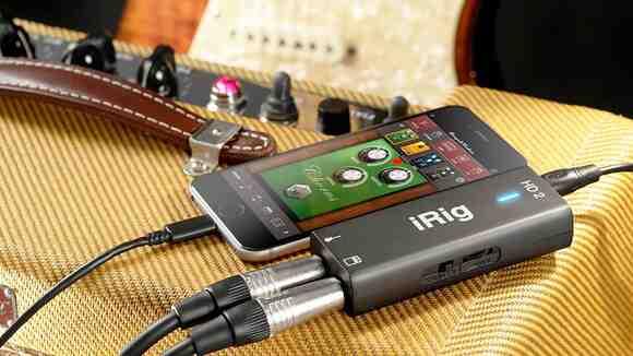 ギターやマイクをスマホに接続できるiRigアプリの特徴