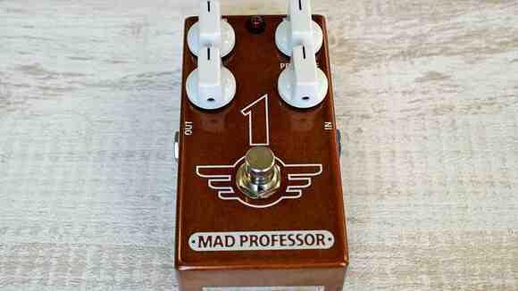 ギターの世界を変えた「炎の導火線」サウンドを1ペダルで! MAD PROFESSOR 1