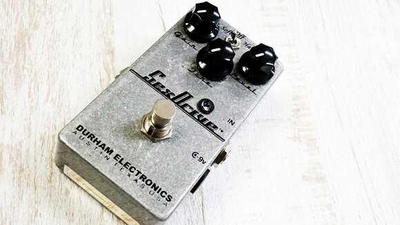 圧巻の質感を持つギター用ブースター、Durham Electronics Sex Drive