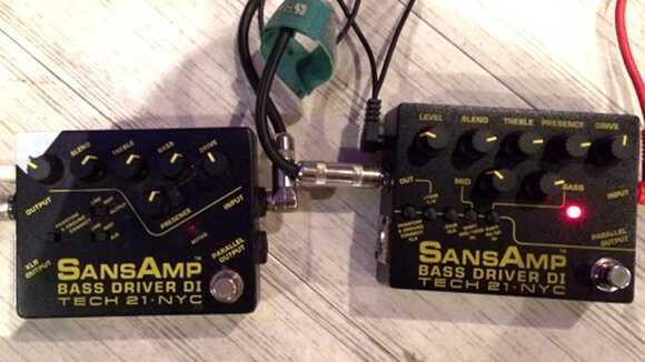 【定番ベースエフェクター新旧比較】SANSAMP BASS DRIVE D.I