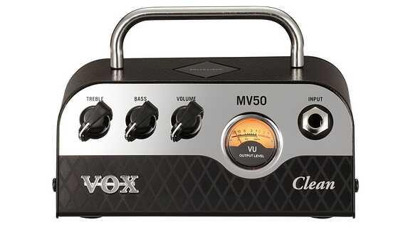 話題の新作ギターアンプ「VOX MV50 Clean」レビュー