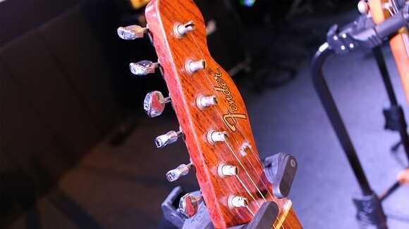 ギター弦の正しい巻き方