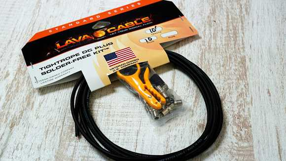 DCケーブルも自由な長さでつくってみよう!LAVA CABLE TIGHTROPE DC PLUG SOLDER-FREE KIT!