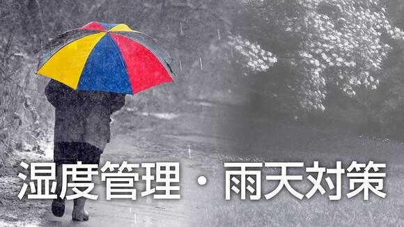 楽器の湿度管理・雨天対策
