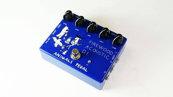 使える機能をシンプルに!ANIMALS PEDAL FIREWOOD ACOUSTIC D.I.発売!