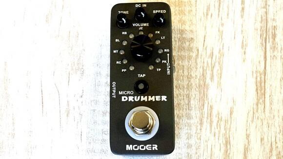 超コンパクトドラムマシン!? このサイズに121パターンのリズムを収録!MOOER MICRO DRUMMER!