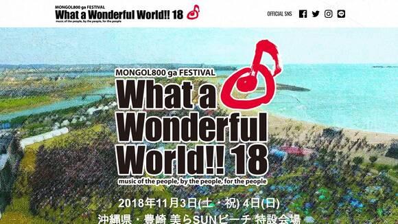 What a Wonderful World!!