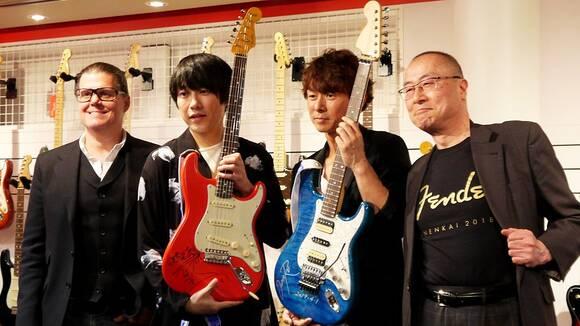 大阪・Fender公式のSHOP-in-SHOPに行ってきた