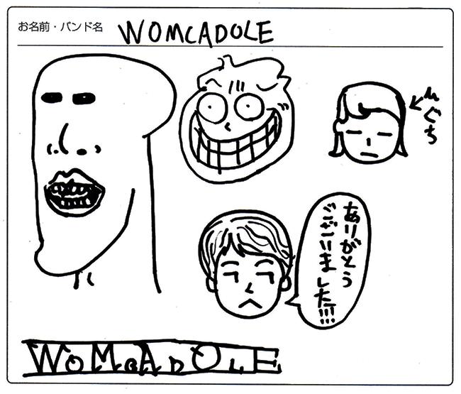 WOMCADOLE 様